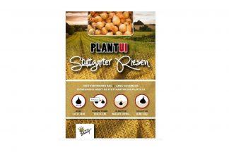 Buzzy Plantuien Stuttgarter Riesen zijn voor alle gronden geschikt.