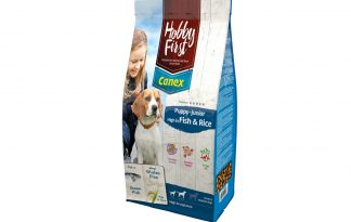 Hobby First Canex Puppy-Junior Fish&Rice
