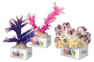 Kunstmatig koraal voor in het aquarium