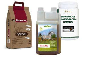 Voedingssupplementen voor paarden