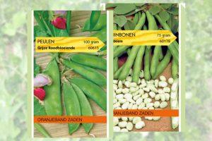 Peulvruchten en bonen zaden