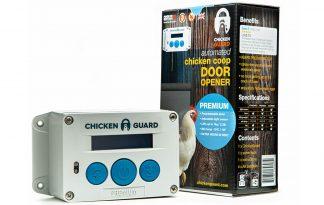 ChickenGuard Premium deuropener voor kippen