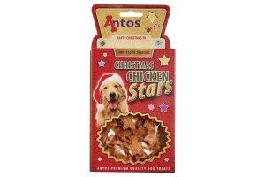Christmas Chicken Stars snacks
