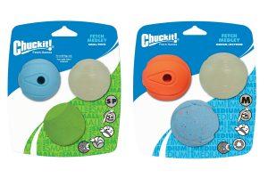 Chuckit Fetch Medley Medium Small 3-Pack