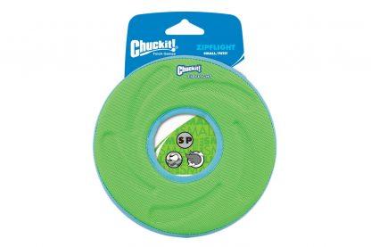 ChuckIt Zipflight frisbee - Small Groen
