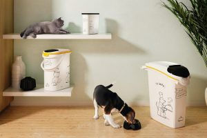 Curver Voedselcontainer hond Dinner editie - 23 liter