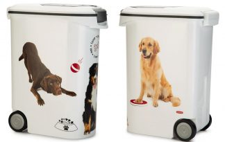 Curver Voedselcontainer hond Sketch editie - 54 liter