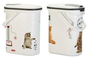 Curver Voedselcontainer kat Sketch editie - 10 liter
