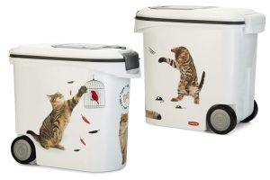 Curver Voedselcontainer kat Sketch editie - 35 liter