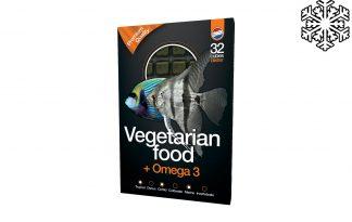 Diepvriesvoeding vegetarisch voer & Omega3