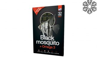 Diepvriesvoeding zwarte muggenlarve & Omega3