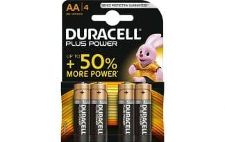 Duracell AA Duralock 1,5 Voltbatterij 4st
