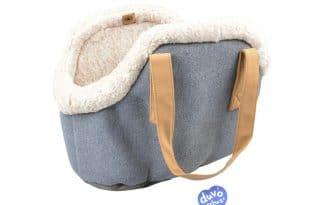 Met de Duvo+ Draagtas Cushy neemt u uw huisdier overal mee naar toe. De tas heeft neutrale kleuren en een alledaagse uitstraling.