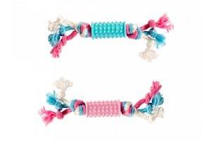 Het Duvo+ Puppy Toy ondersteunt uw puppy tijdens de ontwikkeling van een gezond gebit.