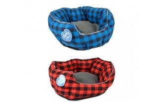 Met de Duvo+ mand Ranch ligt uw huisdier extra comfortabel. De mand is voorzien van een extra dik kussen en een brede hoge rand voor extra steun.