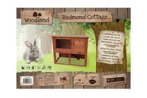 Duvo Redmond konijnenhok met ren