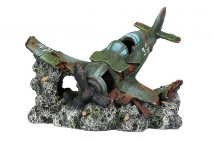 EBI Aqua Della Crashed Raven kunstvliegtuig