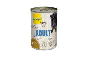 ECOstyle ADULT kip hondenvoeding blik