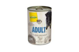 ECOstyle ADULT lam hondenvoeding blik