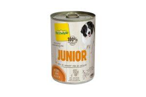 ECOstyle JUNIOR hondenvoeding blik