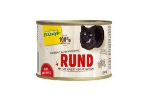 ECOstyle RUND kattenvoeding blik