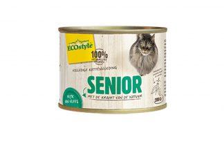 ECOstyle SENIOR kattenvoeding blik