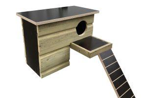 Maatwerk eendenbroedblok met trap