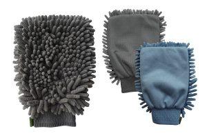Hippo-Tonic fluweelachtige maasstof handschoen