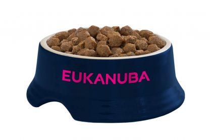 Impressie van de Eukanuba hondenbrok van middelgrote rassen