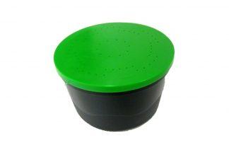 Eureka Madendoos zwart groen