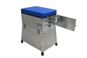 Eureka zitkoffer aluminium