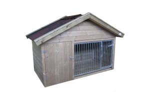 Laag model hondenkennel Exclusief - totale kennel