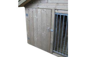 Laag model hondenkennel Exclusief - deur