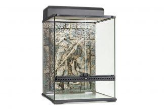 Het Exo Terra Aztec Terrarium wordt geleverd inclusief achterwand.