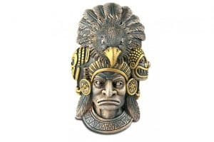 De Exo Terra Aztec Warrior schuilgrot is geïnspireerd op de pre-Columbiaanse culturen.