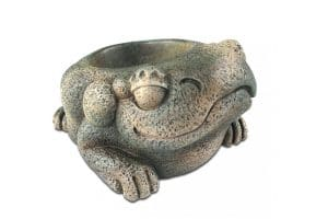 De Exo Terra Kikker waterschaal is geïnspireerd op de pre-Columbiaanse culturen. U creëert hiermee een mystieke, oude precolumbiaanse sfeer in uw terrarium.