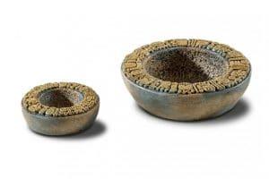 De Exo Terra waterschaal is geïnspireerd op de pre-Columbiaanse culturen.