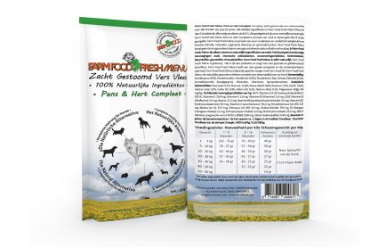 Farm Food Fresh Menu Pens en Hart Compleet - 125 gram