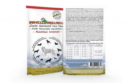 Farm Food Fresh Menu Rundvlees Compleet - 125 gram