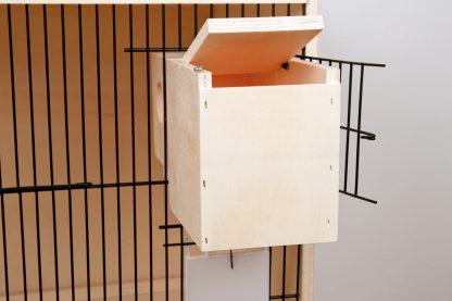 Fauna nestkast gouldamadine voor nestkastdeur
