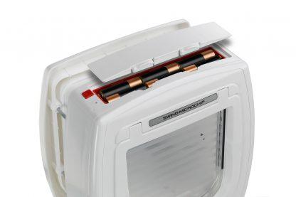 Ferplast Swing Microchip kattenluik batterijen
