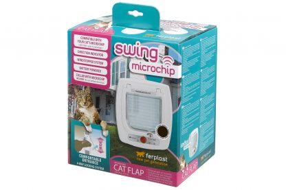 Ferplast Swing Microchip kattenluik verpakking