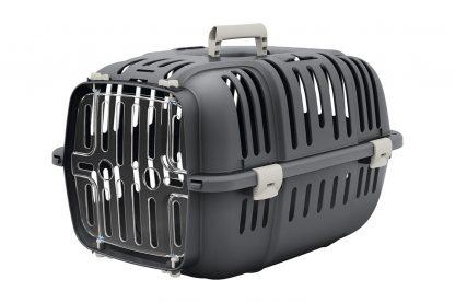 Ferplast vervoersbox Jet is ideaal voor het veilig transporteren van onder andere (kleine) honden of katten, fretten, konijnen of cavia's.