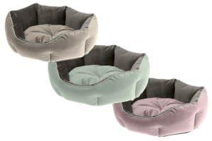 De Ferplast Queen mand is gemaakt van hoogwaardige materialen. En verkrijgbaar in drie stijlvolle kleuren, zoals groen beige en violet.