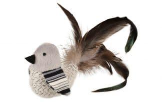 De Flamingo Pirin speelgoedvogel is een vrolijke en speelse knuffel voor uw kat!