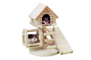 Flamingo Wonderland hamsterhuis