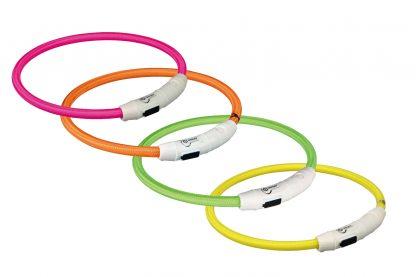 Trixie Flash Light Ring USB