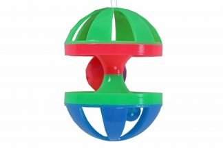 Dit knaagdierspeelgoed is een leuke diabolo met bel. Een uitdagend speeltje, waardoor uw knager zich niet gaat vervelen.
