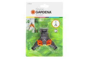 Gardena 2-weg ventiel splitter kraan