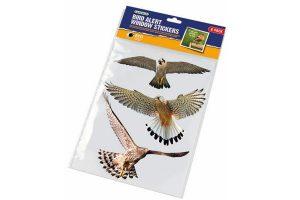 Gardman raamstickers van wilde vogels die helpen te voorkomen dat vogels geen verwondingen oplopen door aanvaringen met beglazing.